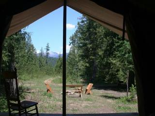North Idaho Bed and Breakfast at Huckleberry Tent - Clark Fork vacation rentals