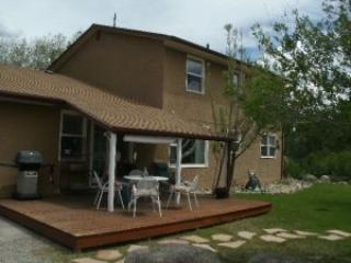 Exterior Shot of back Deck at Creekside - Creekside Lodge Great Family Home! Buena Vista, CO - Buena Vista - rentals