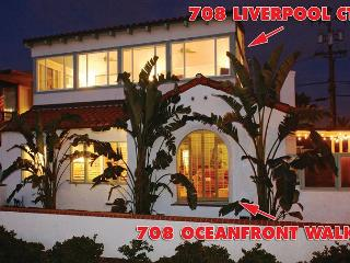 Perfect 5 Bedroom House, Ocean Front with beautiful  view and a large patio - San Diego vacation rentals