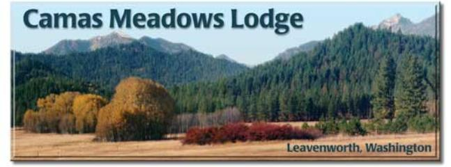 view from the deck - Spectacular Camas Meadows Eco-Lodge - Leavenworth - rentals