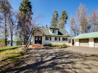 Loomis Lakefront Hunting Lodge with Dock - Donnelly vacation rentals