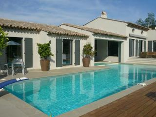Countryside views from this single- level villa with pool. ACV IPL - Le Plan-du-Var vacation rentals