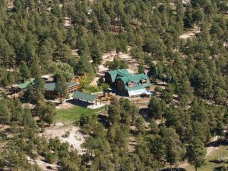 1929 Log Cabin Guest House on 5 acres of pines - Colorado Springs vacation rentals
