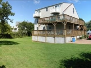 """Rear view with multiple decks & balconies! Huge yard. Lots of parking. - """"Lighthouse View!"""" 92925 - Cape May - rentals"""