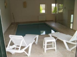 Beautiful large holiday chalet with indoor pool and garden. - Olivella vacation rentals