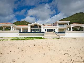 CASA SUNSHINE...new beach front villa on Guana Bay, St Maarten - Guana Bay vacation rentals