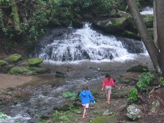 Laughing Waters Lodge Overlooking Hickory Nut Creek Waterfall - Gerton vacation rentals