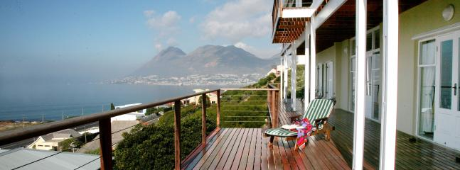 Deck with view to Simon's Town - Sea facing Accommodation Simon's Town - Simon's Town - rentals