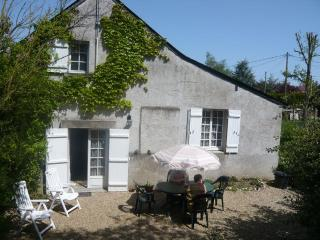 GÎTE  IN THE VALLEY OF LOIRE, 10' OF ANGERS. - Mûrs-Erigné vacation rentals