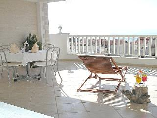 Apartment with terrace with sea view - Baska Voda vacation rentals
