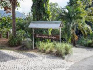 The entrance to Lemongrass Lodge - Amazing Ocean Views,Lush Tropical Garden. - Beau Vallon - rentals