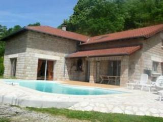 villa castanea - Villa Lodging With A 280 Degrees Panoramic View Of The Massif - Genestelle - rentals