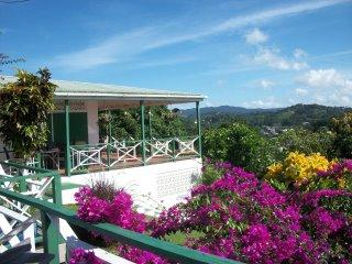 Main House - Moonlight Shala- high in the hiils with sea views - Tobago - rentals