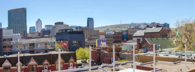 View from the terrace - Downtown with terrace (Family friendly) - Montreal - rentals