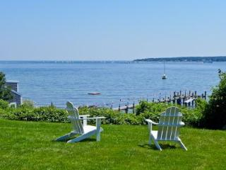 WEST CHOP WATERFRONT COLONIAL WITH PRIVATE BEACH ACCESS - VH PJEW-55 - Vineyard Haven vacation rentals