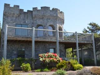 The Castle is a large pet friendly Arch Cape ocean view home with a great deck 4 bedrooms 2 baths sleeps 12 - 75262 - Arch Cape vacation rentals