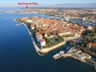 3 bedroom apartment with 2 balconies and sea-view - Zadar County vacation rentals