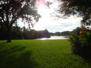 Beautiful pool home in park-like setting on lake - Tampa vacation rentals