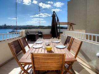 Sundrenched Sliema Penthouse - Island of Malta vacation rentals