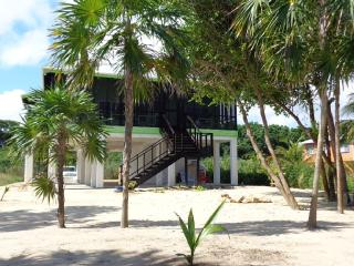 Beachfront Rental Sunrise Cabana, Hopkins , Belize - El Dorado vacation rentals