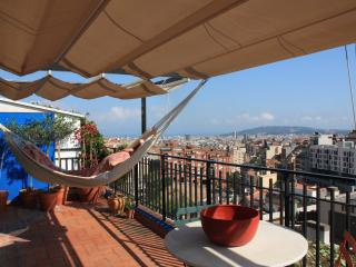 Gràcia-Parc Güell terrace with views over city NEW - Barcelona vacation rentals