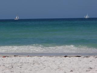 Steps to  Beach, Gulf View, Footprints in the Sand - Bradenton Beach vacation rentals
