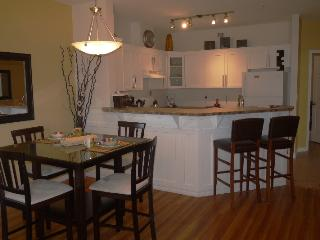 Beautiful pool level walk out suite at Discovery Bay Resort  (boat slip available) - Kelowna vacation rentals