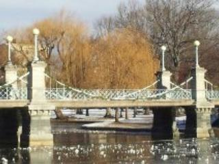Bridge Over the Duck Pond in Public Gardens - Apartment on Historic Beacon Hill - Boston - rentals