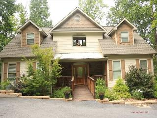 Magnificent home w/ private dock where boating, swimming and fishing awaits - Blairsville vacation rentals