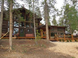 Lakefront Log home with private dock-sleeps 20 - Grand Lake vacation rentals