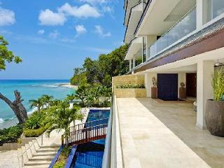Spacious beachfront luxury home Portico #1 with pool, gym, sauna & private cook 10 min to town - Prospect vacation rentals