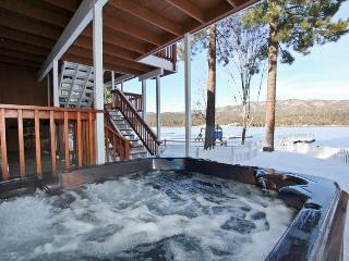 Lakefront Manor - Luxurious! Boat Dock! Spa! Pool! - Big Bear Area vacation rentals