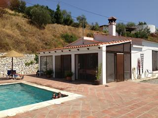 House and terrace - Andalucia holiday villa for rent, Sayalonga, Spain - Sayalonga - rentals