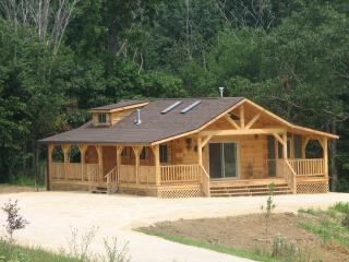 Burr Oak... NE Iowa Amish built Log Cabin - Iowa vacation rentals