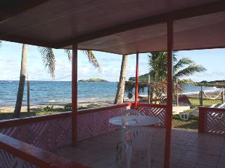 You can't get closer to the beach - Vieux Fort vacation rentals
