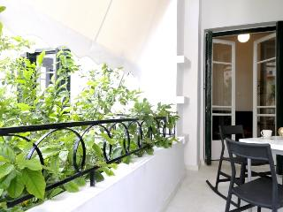 Design apartment balcony + garden Kallimarmaro!! - Athens vacation rentals