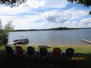 Beautiful Lake House on Crooked Lake, SW Michigan - Delton vacation rentals