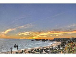 Ocean View Sunset from Master Bedroom - OCEAN/BEACH VIEWS, Newer Listing, Updated and Newly Furnished in June 2013, LISTEN TO THE WAVES!! - Dana Point - rentals