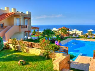 Lux villa with panoramic sea view, gardens and pool - Rethymnon vacation rentals