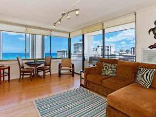Waikiki Skytower #2204 - Ocean Views! One bedroom, washer/dryer, WiFi, pool & parking! - Waikiki vacation rentals