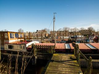 Spacious Amsterdam Holiday Houseboat - Amsterdam vacation rentals