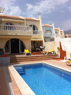 Villa -  private heated pool in Tenerife, Canaries - Playa Paraiso vacation rentals