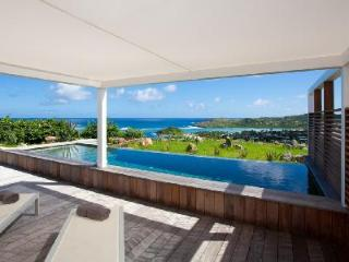 Alphane Villa- modern gem on Marigot Bay with unique views and inifinity pool - Mont Jean vacation rentals