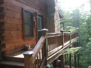 Log Cabin on fightingtown creek - Blue Ridge vacation rentals