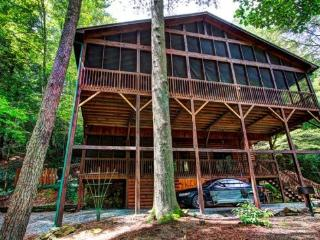 Riverwatch Retreat riverfront luxury on the Toccoa River - North Georgia Mountains vacation rentals