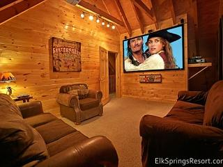 The Search is Over—Affordable Luxury, Central Location, Theater & Hot Tub - Gatlinburg vacation rentals
