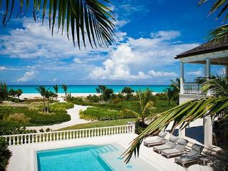 This extraordinary 18- acre estate offers more than 600 feet of private beachfront on Grace Bay. PL AMZ - Leeward vacation rentals