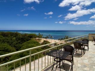 Large Ocean View Studio on the Park in Waikiki! - Honolulu vacation rentals