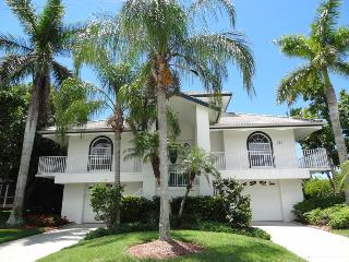 Tropical beachy 4/3 2-story waterfront home-COT381 - Marco Island vacation rentals
