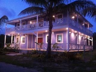 Pelican House - gorgeous at night! - Pelican House - NEW! 3 double bedrooms, 314A - Jolly Harbour - rentals